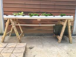 backyard aquaponics u2022 view topic weekend project nft bench