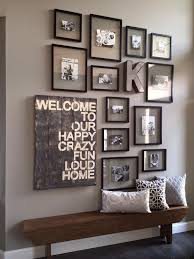 Picture Frame Hanging Ideas Picture Frame Wall Beautiful Space Budgeting And Spaces