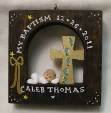 baptism christmas ornament baby s baptism christian baptism ships in 24 hours personalized