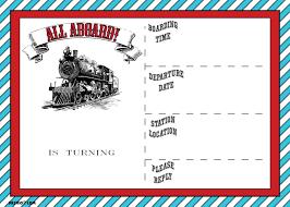 free printable vintage train ticket invitation template drevio