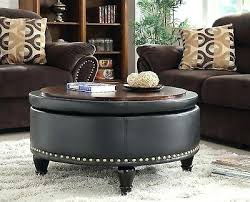 Kohls Ottoman Nailhead Ottoman Button Tufted Storage Ottoman With Taupe Color