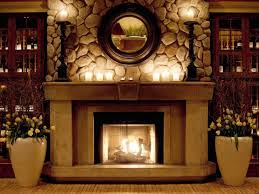 decorations wall mounted indoor fireplaces your daily 10 ways to decorate your home for winter hgtv s decorating