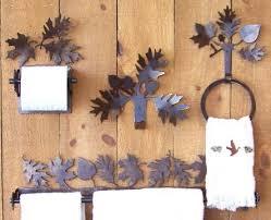 Acorn Bathroom Furniture Oak Leaf And Acorn Bathroom Accessories
