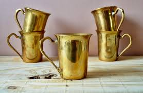 mugs u0026 more gold also coffee