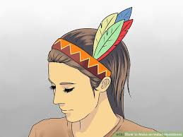 3 ways to make an indian headdress wikihow