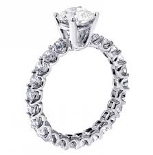 setting diamond rings images 2 60 ct brilliant cut diamond engagement ring platinum u prong jpg