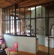 separation cuisine salle a manger verrière de séparation cuisine à lyon