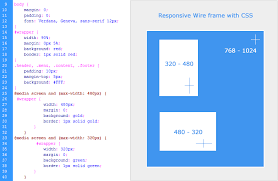 responsive design css responsive web design sle layout css