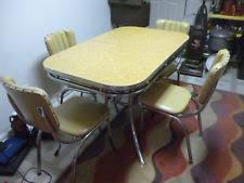 Vintage Kitchen Table EBay - Chrome kitchen table