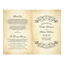 Create Your Own Wedding Program 177 Best Wedding Program Card Images On Pinterest Wedding