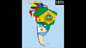 Maps Of South America South America Timeline Of National Flags Part 2 Youtube