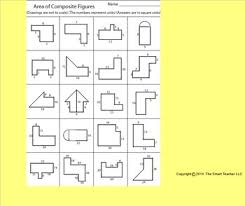 area of composite figures worksheet by kevin wilda tpt