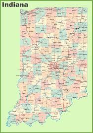 Indiana Map Us Indiana Map Usa