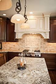 kitchen backsplash extraordinary layered stone backsplash copper
