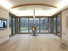 modern timber kitchen designs timber framed houses contemporary curved self build timber frame