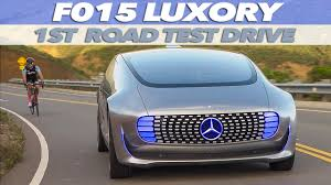 mercedes benz f 015 luxury in motion first test drive youtube