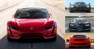 Tesla Roadster Vs Bugatti Chiron En De Rest Topgear Nederland