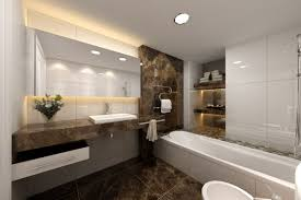 awesome modern bathrooms designs marble and corian2 modern small