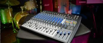 Recording Studio Mixing Desk by Studiolive Ar16 Usb Presonus