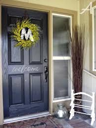 front doors good coloring painting a front door black 127