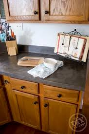 Inexpensive Kitchen Countertops Diy Concrete Countertops Over Existing Formica Hymns And Verses