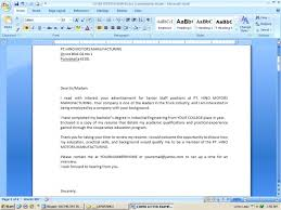 How To Send Resume To Company For Job by Sending A Cover Letter Via Email