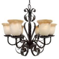 maxim lighting aspen 6 light oil rubbed bronze chandelier