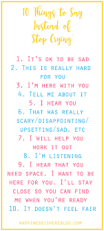10 things to say instead of stop parents and