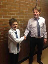 Challenge Tie Or Not Largs Academy On Congratulations To Harry Mcgill With