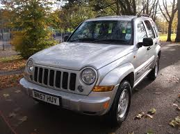 silver jeep liberty with black rims used jeep cherokee cars for sale motors co uk