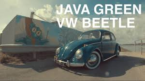 volkswagen beetle green lowered java green vw beetle youtube