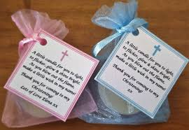 christening favors 1 150 christening baptism favours vanilla candle tealights