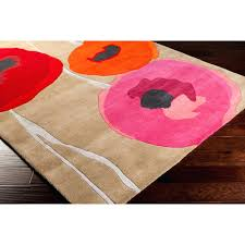 Poppy Area Rug Poppy Area Rug S Terra Rectangle Flower Rugs Residenciarusc
