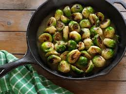 cooked brussels sprouts recipe dave lieberman food network