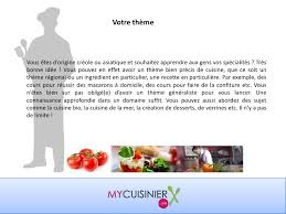 donner des cours de cuisine comment devenir cuisinier à domicile ou donner des cours de cuisine