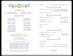 layout of wedding ceremony program free wedding ceremony program templates daway dabrowa co