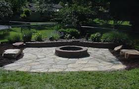 Outdoor Slate Patio Flagstone Fire Pit Pictures Flagstone Patio With Fire Pit