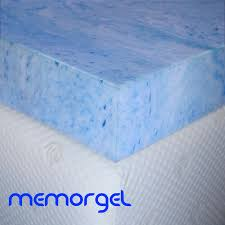 cooling gel memory foam mattress topper natural latex mattress