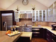 Friendly Kitchen Color Enhances Family Friendly Kitchen Hgtv