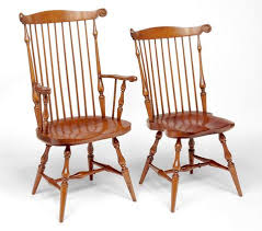 High Back Windsor Armchair Reproduction Windsor Chairs The Federalist