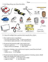 Emergency Preparedness Worksheet Basic Aid Worksheets Aid Worksheet Photo Aid I