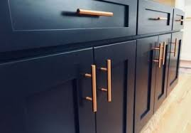 navy blue kitchen cabinet pulls 24 trendy kitchen blue copper spaces blue kitchens