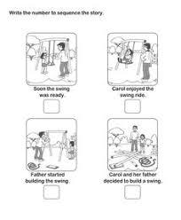picture sequence worksheet 18 esl efl worksheets kindergarten