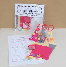 make your own fabric christmas tree decorations make your own