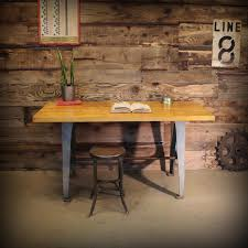 furniture minimalist industrial work tables stationary square