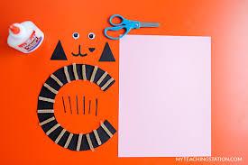 letter c craft cat myteachingstation com