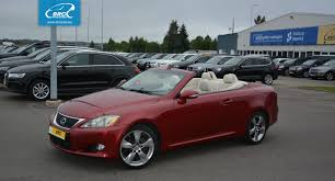 lexus luxury sedan lexus is 250 c cabriolet id 792942 brc autocentras