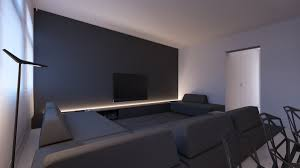 grey accent wall interior design ideas