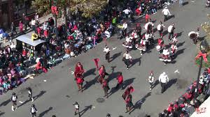 helping mission band in raleigh parade 2017