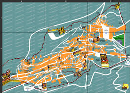 Utc Parking Map Umbria The Green Heart Of Italy